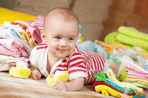 It's easy for a baby to go through a few changes of clothes (not to mention diapers). But is it safe to toss everything in the wash?