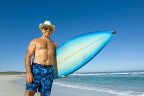 Whether surfing in the sun or skiing on the slopes, there's no limit to where baby boomers can party!