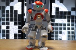 The NAO robot from Aldebaran Robotics is adorable, but it's also one of Paro's peers. Among its potential uses is in therapy for children with autism spectrum disorders.