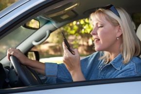 Texting while driving could be deadly. Don't teach your kids this awful habit!