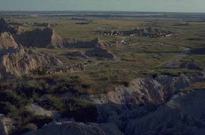 """National Parks Image Gallery The Sioux called this area of South Dakota mako sica, or """"bad land."""" See more pictures of national parks. See more pictures of national parks."""