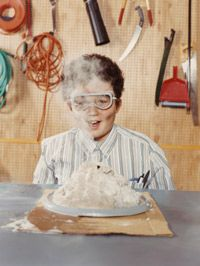 What would we do with all the baking soda produced by the SkyMine? It could be used in volcano science experiments.