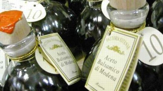 Balsamic Vinegar Questions