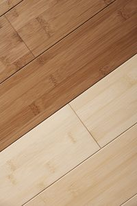 Bamboo is a popular choice in hardwood flooring because it's very durable and considered eco-friendly. See more pictures related to green living.