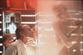 """For many, the idea of human cloning brings to mind films such as """"Alien: Resurrection,"""" in which scientists grow batches of clones to try to bring the film franchise's hero back to life."""