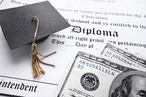 Student loans are one of the few types of loans that can't be discharged by declaring bankruptcy.