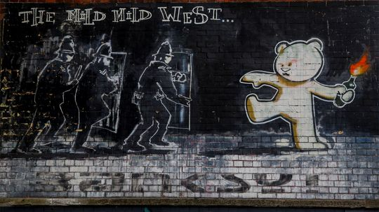 6 Works of Street Art That Provoke, Amuse and Alarm
