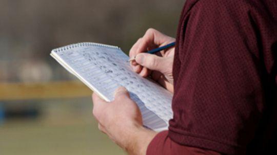 How a Baseball Scorecard Works