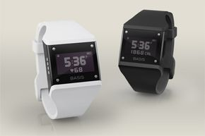 Black or white Basis B1 bands for the discriminating self-tracker