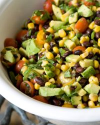 A few extra ingredients can have a huge impact on a black bean salad.