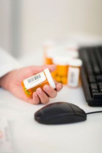 Some pharmacists rely on bar codes to help identify and track medications.