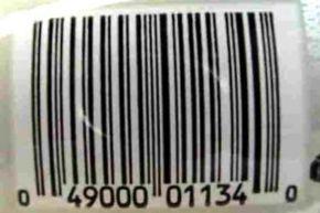 UPC label on a 3-liter bottle of Diet Coke