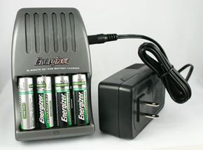 Keep a stash of well-charged batteries in a convenient location in your house -- you never know when the power will go out.