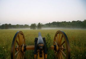 A Union cannon at Gettysburg National Battlefield. See more pictures of the Civil War.