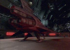 A Viper Mark VII makes a three point landing.
