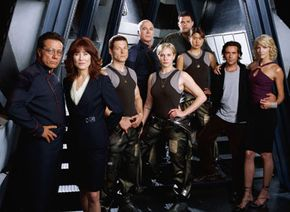 The new Galactica cast