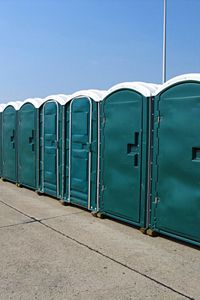 Yes, people have been known to dress up like portable bathrooms to run in the Bayou City Classic 10K.