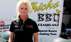 Lee Ann Whippen of Wood Chick's BBQ