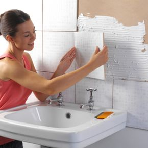 If you've got the skills, you might save yourself some dough doing your own tiling or other renovation tasks.