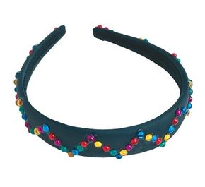 This beaded headband will make you feel like you're wearing a crown.
