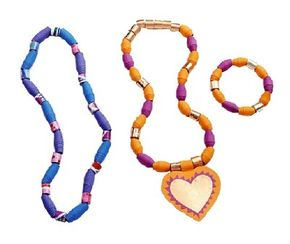 Handmade necklaces make perfect birthday presents.