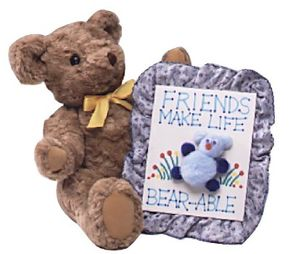 The Lovable Teddy Bear Plaque makes a great homemade gift or keepsake.