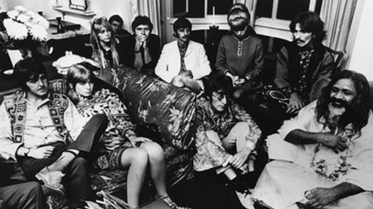Did the Beatles introduce yoga to the Western world?