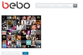Popular Web Sites Image Gallery The Bebo login page. See more pictures of popular web sites.