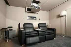 You don't need a ton of space for a killer home theater.