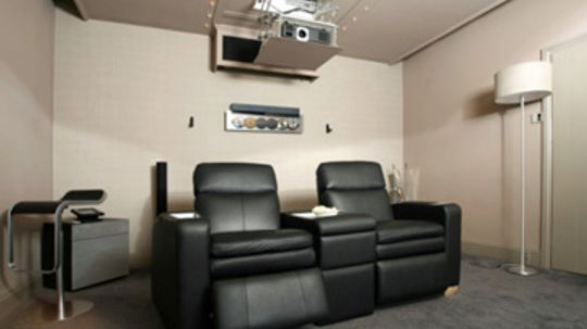 How to Turn a Bedroom Into a Home Theater