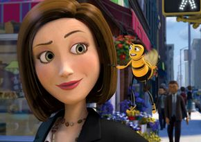 """Vanessa (Renée Zellweger) and Barry (Jerry Seinfeld) out on the town in """"Bee Movie"""""""