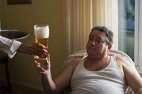 Ever wonder why they call it a beer belly?