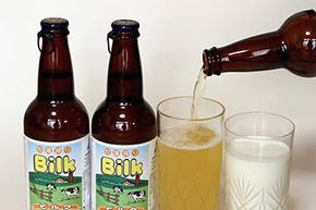 Back in 2007, a Japanese beer company thought they'd hit on a winning product. Bilk was a combination of beer and 30 percent milk. Although it did not curdle, people didn't lap it up either and it's no longer made.
