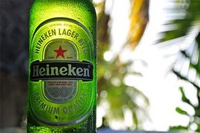 Leaving a bottle of beer out in the sunlight will turn its contents.
