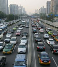 A typical day of Beijing traffic