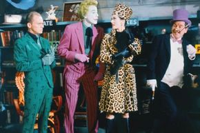 Costumes are one of many below-the-line expenses in a movie's budget.