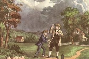 We've all been told that Benjamin Franklin discovered electricity by flying a key attached to a kite during a thunderstorm, but skeptics say that's highly dangerous and improbable.