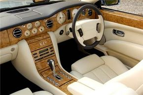 A Bentley Azure customized by Mulliner