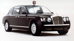 The Queen of England's custom-made Bentley State Limousine