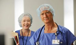 If you like helping fellow seniors, try a job in home health care.