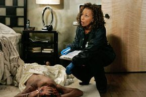 """Some police officers believe that crime shows like """"Law & Order: SVU"""" (seen here) have made criminals more aware of the need to eliminate forensics evidence."""