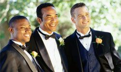 The classic tux is great, but what if your groom is a little more style-savvy than the average guy?
