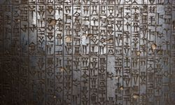 A relief of the Code of Hammurabi.