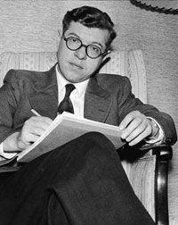 Astronomer Fred Hoyle