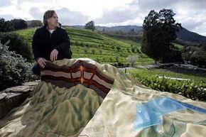 Mike Benzinger runs the Benzinger Family Winery, a biodynamic vineyard in Sonoma Velley