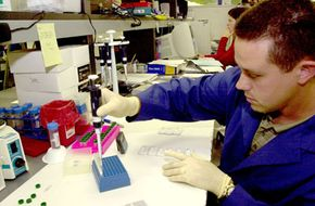 The Anthrax test kit, produced by Tetracore, Inc., provides an on-site screening of biological threats such as Anthrax, Ricin and Botulinum Toxin.