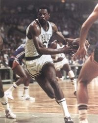 After Wilt Chamberlain was offered a $100,000 salary, the Celtics offered Russell $100,001. See more pictures of basketball.
