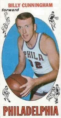 In 11 professional seasons, Billy Cunningham averaged 21.2 points and 10.4 rebounds per game. See more pictures of basketball.