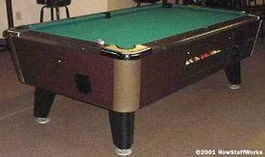 A bar-sized table