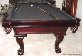A standard-sized table